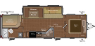 New 2015 Keystone Hideout 28BHSWE Travel Trailer For Sale